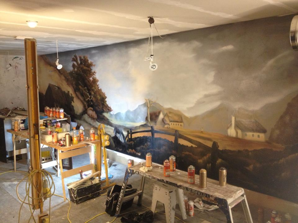 Commercial murals gnasher murals for Commercial mural